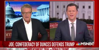 Scarborough Rants At Ken Starr, Calls Trump Defense Team 'A Confederacy Of Dunces'