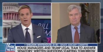 Sen. Sheldon Whitehouse Flummoxes Fox News' Anchor