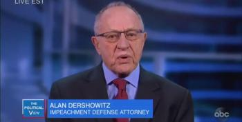 'The View' Laughs At Dershowitz