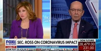 Wilbur Ross Touts Coronavirus' Economic Benefits To The U.S.