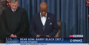 Senate Chaplain Prays: 'For We Always Reap What We Sow'