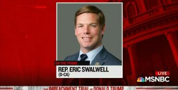 Rep. Swalwell Assures Us Trump's Problems Are Far From Over