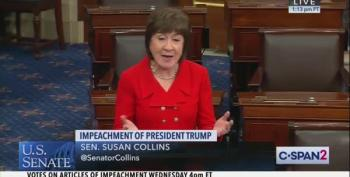 Susan Collins Betrays The Country With Vote To Acquit