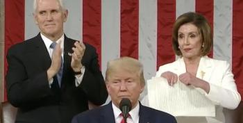 Pelosi Ripping Up Trump's Speech Is The Only Moment From SOTU 2020 Worth Remembering