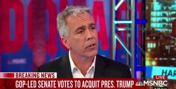 Joe Walsh Denounces Republican Senators' Cowardice