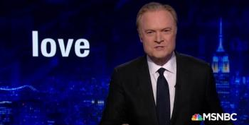 Lawrence O'Donnell:  Trump Does Not Understand 'Love'