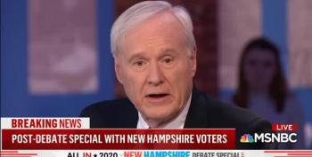 Chris Matthews Is Terrified Of Socialism