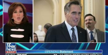 Jeanine Pirro Demands Mitt Romney 'Get The Hell Out Of The United States Senate!'