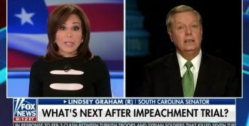Jeanine Pirro Pushes Lindsey Graham To Go After Trump's Political Enemies