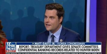 Matt Gaetz Wonders Aloud About Nepotism...in The Senate?