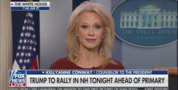 Kellyanne Conway Lies About Trump's Vindictive Firing Of Lt. Col. Vindman