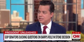 John Avlon Excoriates Bill Barr And Donald Trump Over Roger Stone