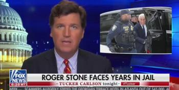 Tucker Carlson Demands Trump Pardon Roger Stone To Prove RussiaGate Is A Hoax