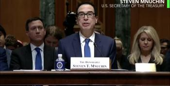 Mnuchin Releases Info On Hunter Biden But Not Trump's Taxes?