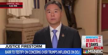 Rep. Ted Lieu Scorches Senate GOP: 'Basically A Quivering Mass Of Jello'