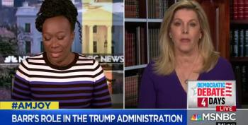 Cynthia Alksne Tells Joy Reid That Bill Barr Exerts No Independence