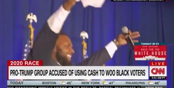 CNN: Trump Supporter 'Pastor' Darryl Scott Wooing Voters With Cash