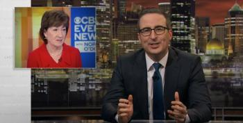 John Oliver Blasts Susan Collins For Ridiculous Claim Trump 'Learned His Lesson' Following Impeachment
