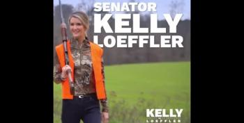 Georgia Senator Posts Ad For Herself In Full Hunting Regalia - With No Hunting License