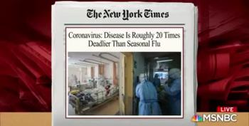 Coronavirus Now Considered 20 Times Deadlier Than Regular Flu