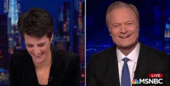 Lawrence O'Donnell And Rachel Maddow Scoff At Barr's Latest