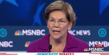 Elizabeth Warren Comes Out With Both Guns Blazing