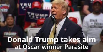 Trump Mocks Parasite's Best Picture Win At The Oscars