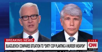 Anderson Cooper Calls 'Bullshit' On Blogojevich's 'Alternative Universe Of Facts'