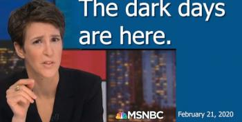 """Maddow: """"This Is Not A Warning. The Dark Days Are Here."""""""