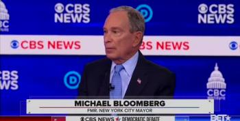 Dem Debate Number #13789: Bloomberg Has A Freudian Slip