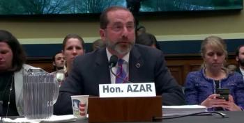 Azar Refuses To Assure Congress That Coronavirus Vaccine Will Be Affordable