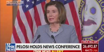 Pelosi Nails Trump On Stock Market Fall