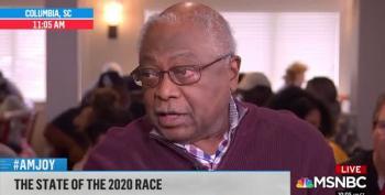 Rep. Clyburn Praises Lindsey Graham Challenger Jaime Harrison