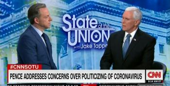 Pence Defends Trump Jr Claim Democrats Want 'Millions' To Die From Coronavirus