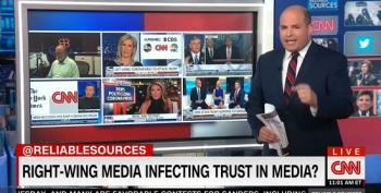 Brian Stelter Lays Into Fox News And Limbaugh For Using Pandemic As A Political Weapon