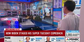 Steve Kornacki Explains The Coalition That Put Biden Across The Top