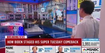 Steve Kornacki Explains The Coalition That Put Biden Across The Top