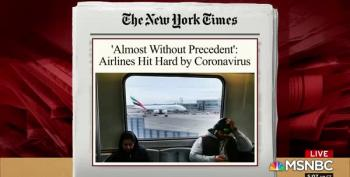 Airlines Take Staggering Economic Losses From Coronavirus