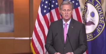 Kevin McCarthy Plays The Burisma Fiddle And Calls It Work