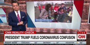 Trump Supporter Tells NBC Reporter She Doesn't Even Believe Coronavirus Exists
