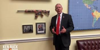 GOP Rep Ken Buck Waves AR-15 Around On Twitter For Manliness