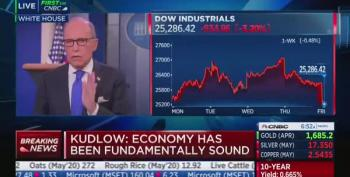 Larry Kudlow Slurs Again: COVID-19 Is 'Relatively Contained'