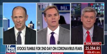 Stephen Moore Tells Fox Viewers To 'Buy Stocks Today!' As Market Crashes Amid Coronavirus Fears.