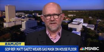 GOP Rep. Gaetz Wears Gas Mask On House Floor, Sparking Ire