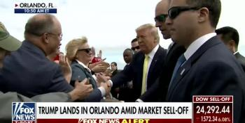 Fox News Notes That Trump Is 'Glad-Handing' Supporters
