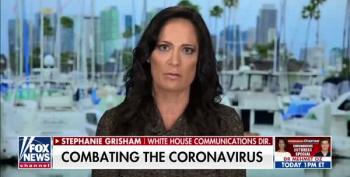 Buh Bye Stephanie Grisham, The Fakest Press Secretary Ever