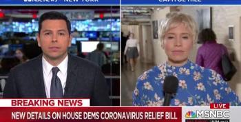 Pelosi Pushes For Vote Tomorrow On Dems' Coronavirus Relief Bill