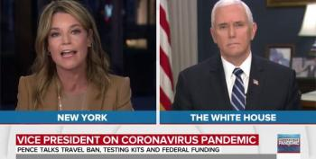 Mike Pence On The Coronavirus Pandemic