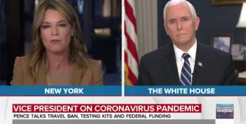 Mike Pence Says There's Been 'Irresponsible Rhetoric' From People Downplaying Coronavirus
