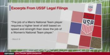 US Soccer Federation Claims Women Players Are Paid Less Because They Are Inferior To Men